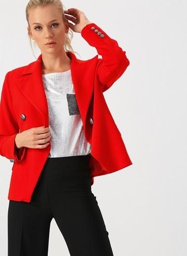 Selen Ceket Kırmızı